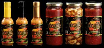 Hot Sauce, Salsa, Marinated Garlic