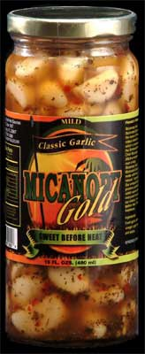 Micanopy Gold Marinated Garlic